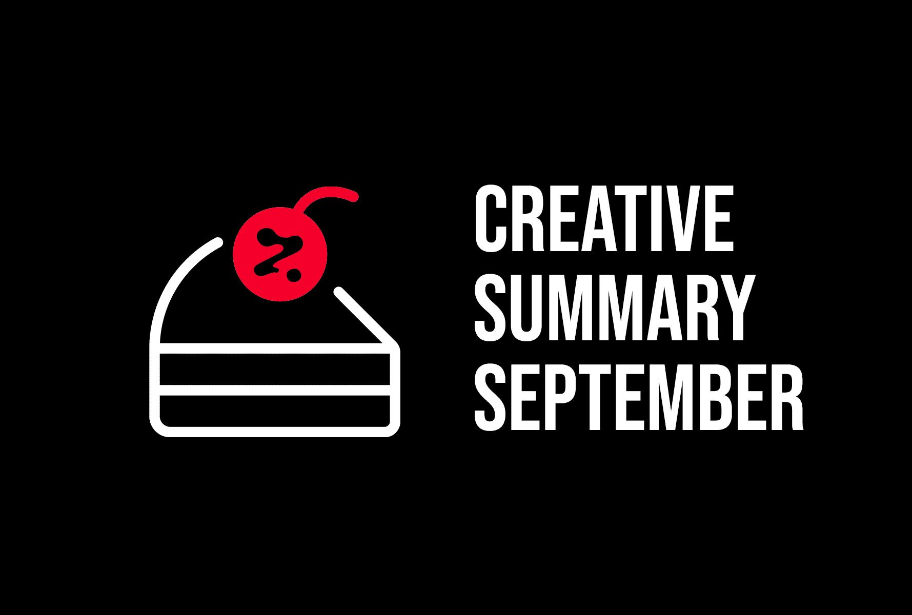 Creative Summary – September
