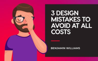 3 Graphic Design Mistakes to Avoid at All Costs