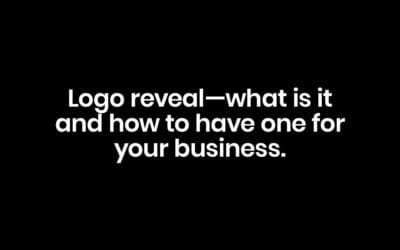 Logo Reveal – What It Is and How to Have One for Your Brand